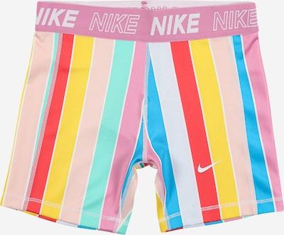 NIKE Sporthose in blau / gelb / pink / rot, Produktansicht