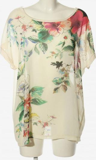 Expresso T-Shirt in L in grün / pink / wollweiß, Produktansicht