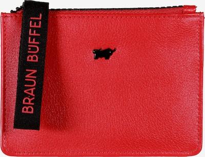 Braun Büffel Lederbörse 'CAPRI Mini' in rot, Produktansicht