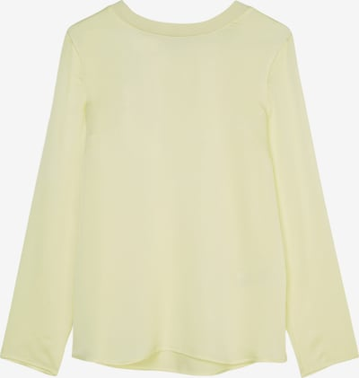 Marc O'Polo Pure Bluse in pastellgelb, Produktansicht