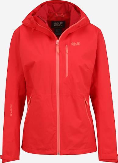 JACK WOLFSKIN Veste outdoor 'Eagle Peak' en rouge clair, Vue avec produit