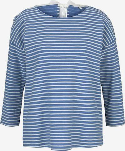 TOM TAILOR DENIM Shirt in blau / weiß, Produktansicht