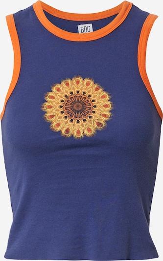 BDG Urban Outfitters Топ 'MANDALA' в синьо / жълто / оранжево / черно, Преглед на продукта