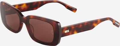 McQ Alexander McQueen Saulesbrilles, krāsa - brūns / konjaka toņa, Preces skats