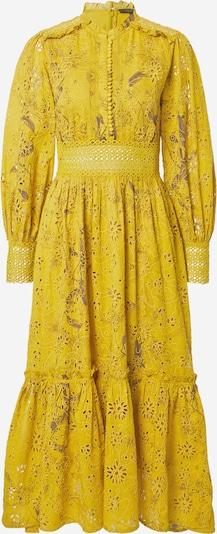 AllSaints Robe-chemise 'Sia' en marron / brun foncé / moutarde, Vue avec produit