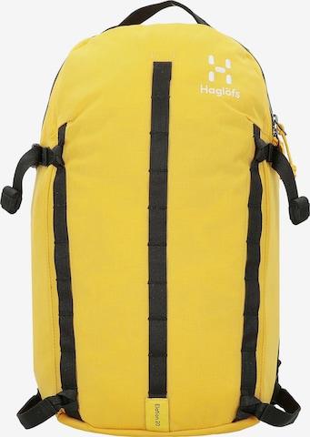 Haglöfs Rucksack in Gelb