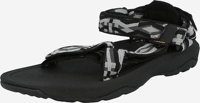 Pantofi deschiși TEVA pe gri deschis / gri închis / negru / alb, Vizualizare produs