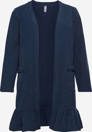 SHEEGO Between-seasons coat in marine blue, Item view