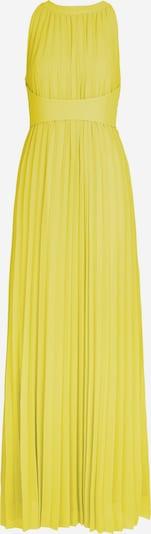 APART Abendkleid aus plissiertem Chiffon in gelb, Produktansicht