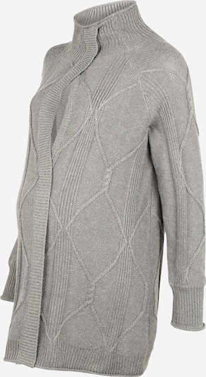 MAMALICIOUS Knit cardigan 'Bianca' in Grey, Item view