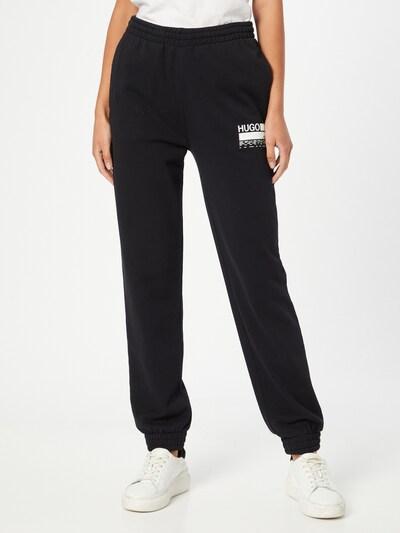 HUGO Pants in Black / White, View model