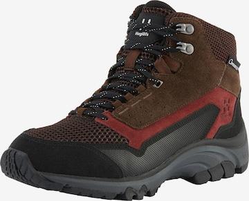 Boots 'Skuta Mid Proof Eco' Haglöfs en marron