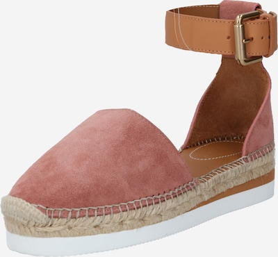 See by Chloé Sandal 'Glyn' in light brown / pink, Item view