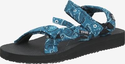 Meyla Bandana Sandale in blau / nachtblau / weiß, Produktansicht