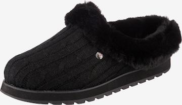 SKECHERS Pantoffeln in Schwarz