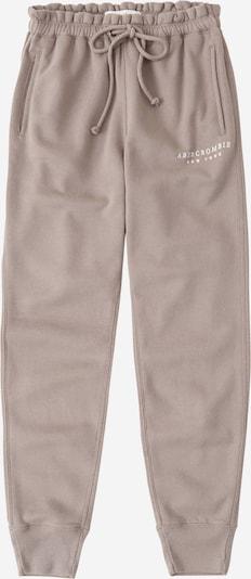 Abercrombie & Fitch Pantalon en gris, Vue avec produit