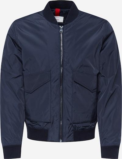 s.Oliver Φθινοπωρινό και ανοιξιάτικο μπουφάν σε σκούρο μπλε, Άποψη προϊόντος