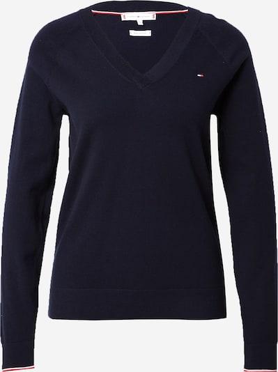 TOMMY HILFIGER Trui in de kleur Donkerblauw / Rood / Wit, Productweergave