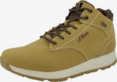 s.Oliver Boots in beige / ocker, Produktansicht