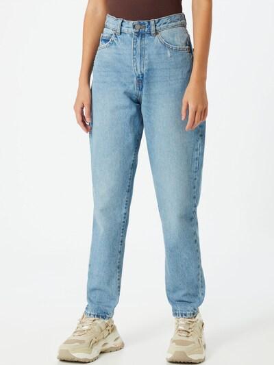 Dr. Denim Jeans 'Nora' i blå denim: Sedd framifrån