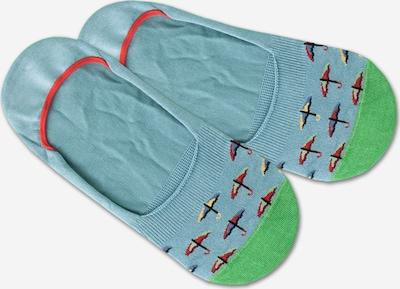 Kojinės iš DillySocks , spalva - mėlyna / žalia / raudona, Prekių apžvalga