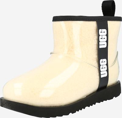 UGG Snowboots in beige / schwarz / weiß, Produktansicht