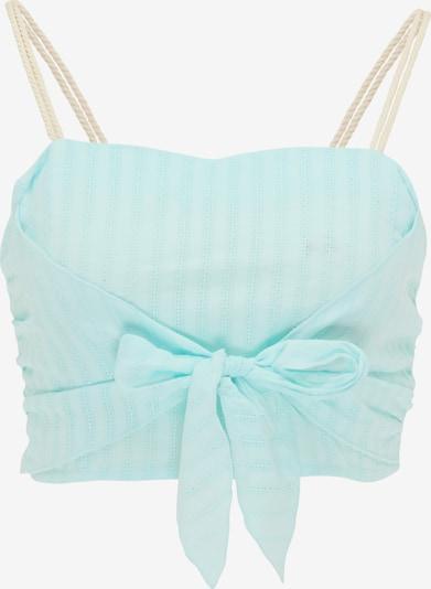 MYMO Romantisches Top in blau, Produktansicht