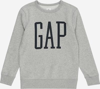 GAP Sweatshirt in de kleur Grijs / Zwart: Vooraanzicht
