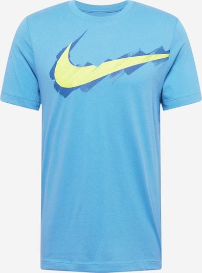 Tricou funcțional NIKE pe turcoaz / albastru regal / galben deschis, Vizualizare produs