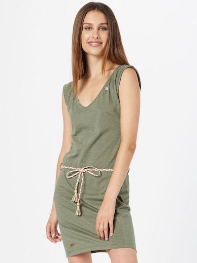 Ragwear Kleid 'Slavka' in khaki, Modelansicht