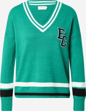 ONLY Sweater 'KAYLA' in Green