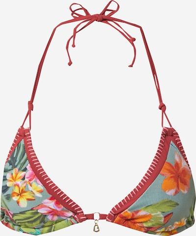 Banana Moon Hauts de bikini 'BLUCO AYANNA' en kaki / mélange de couleurs, Vue avec produit