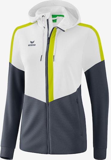 ERIMA Jacke in gelb / schwarz / weiß, Produktansicht