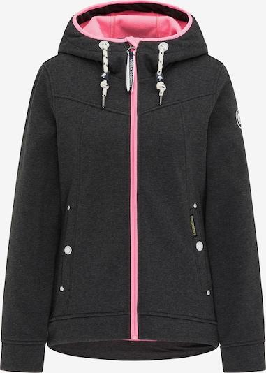 Schmuddelwedda Funktionsjacke in grau / pink, Produktansicht