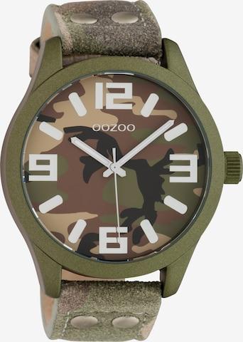 OOZOO Uhr 'C1067' in Grün