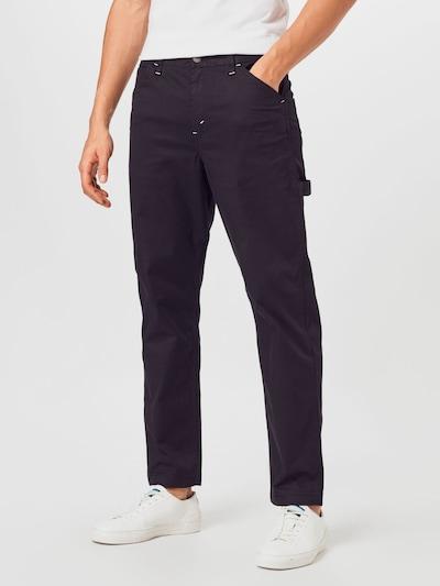 LEVI'S Kargo kavbojke 'CARPENTER' | črn denim barva, Prikaz modela