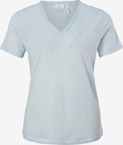 s.Oliver BLACK LABEL T-Shirt in hellblau, Produktansicht
