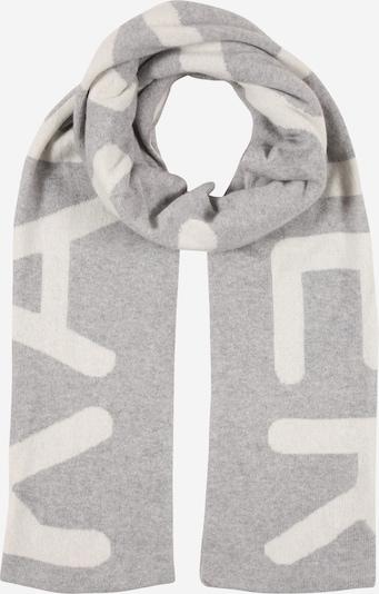 Sciarpa Karo Kauer di colore grigio / bianco, Visualizzazione prodotti