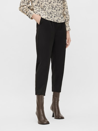 OBJECT Pleat-Front Pants 'Sara' in Black, View model