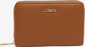 L.CREDI Geldbörse 'Ella' in Braun
