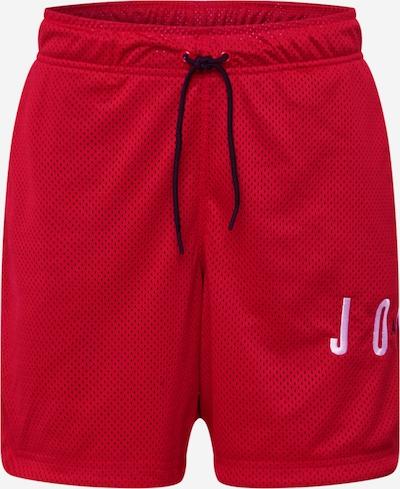 Jordan Sportbroek in de kleur Rood, Productweergave