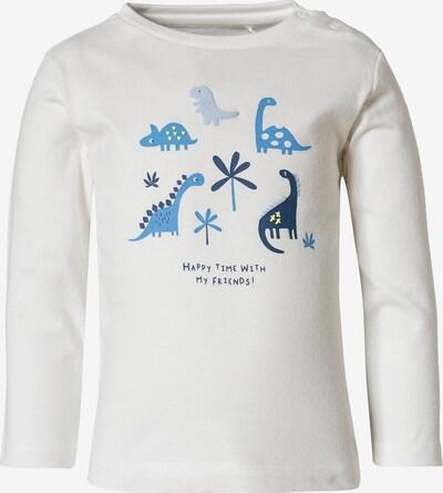 STACCATO Baby Langarmshirt für Jungen in blau: Frontalansicht