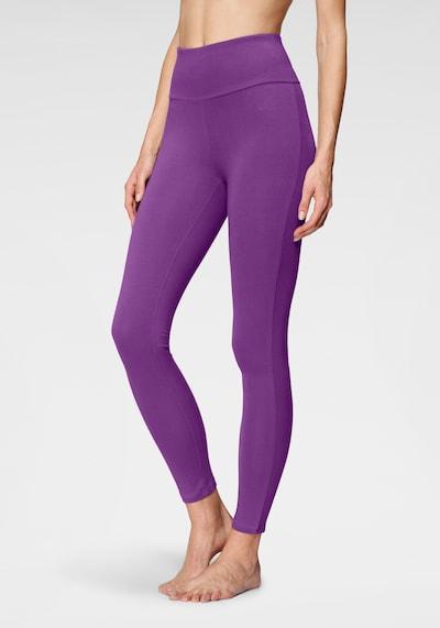 LASCANA Leggings in lila, Modelansicht