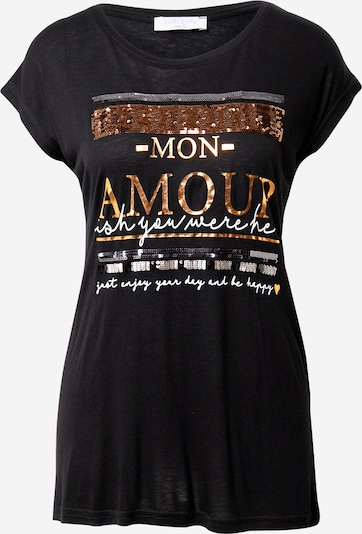Sublevel T-shirt in mischfarben / schwarz, Produktansicht
