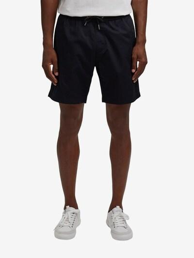 EDC BY ESPRIT Pantalon en noir, Vue avec modèle