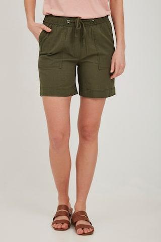 Fransa Shorts in Grün