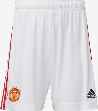 ADIDAS PERFORMANCE Heimshorts 'Manchester United 20/21' in weiß, Produktansicht