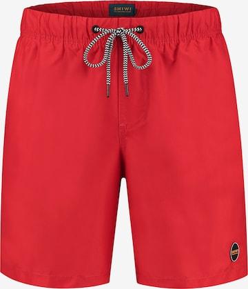 Shiwi Ujumispüksid 'Mike', värv punane