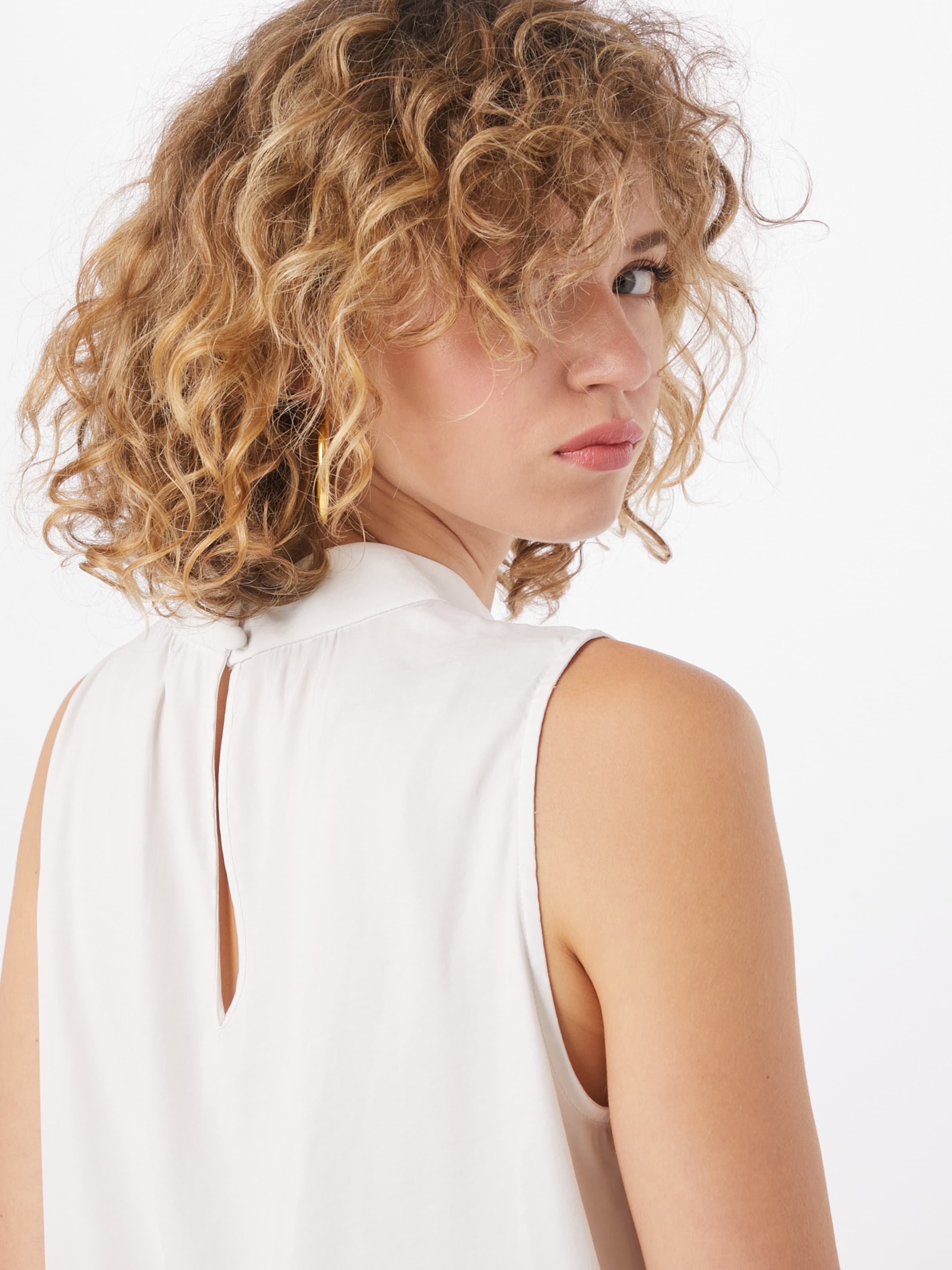 Banana Republic Bluse in offwhite