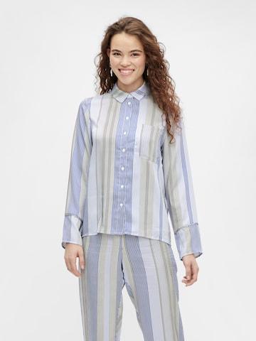 PIECES Bluse 'Sienna' in Blau
